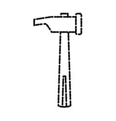Mallet construction tool vector