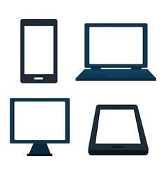 Marketing online vector image