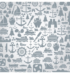 Ship a background vector