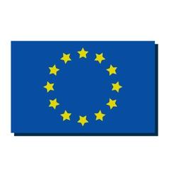 Europe flag vector