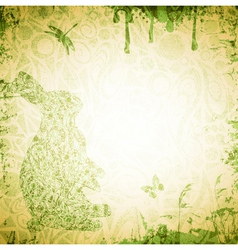 Easter Grunge Background vector image vector image