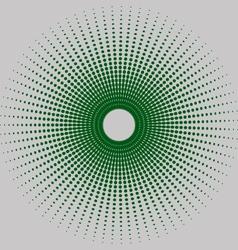 Round halftone vector