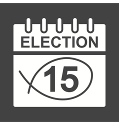 Election day vector