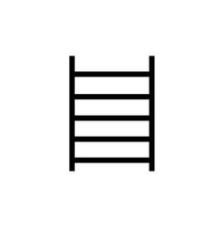 gym bars icon vector image