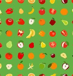 Vegetation patterned wallpaper vector
