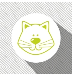 Cute pets design vector