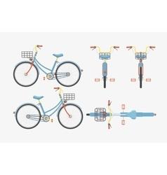 Bike one 1 vector