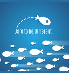 Dare to be different success solution vector