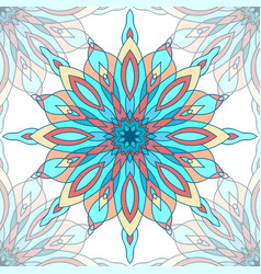 Seamless texture with a pattern of mandalas for vector
