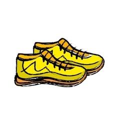 Sport sneakers accesorie vector
