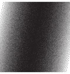 Stochastic raster halftone gradient print vector image