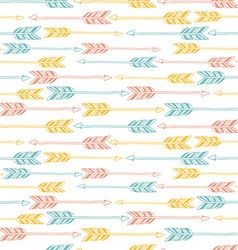 Abstract geometric seamless pattern ethnic vector