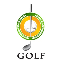 Golf Seal vector image vector image