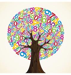 School education concept tree vector image vector image