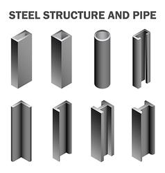 Steel structure vector