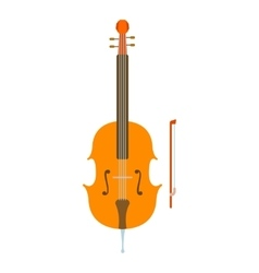 Violin icon flat style vector image