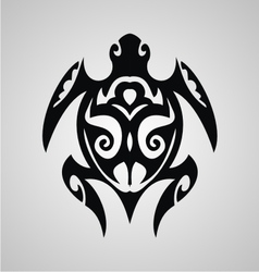 Turtle Tribal vector image