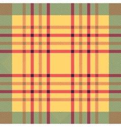 Plaid seamless tartan pattern twill texture vector
