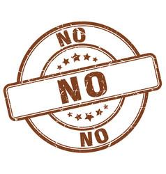 No stamp vector