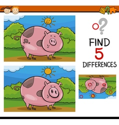 Finding differences task vector