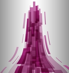 Abstract pink elements technology background vector