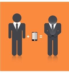 flat modern business background Eps 10 vector image vector image