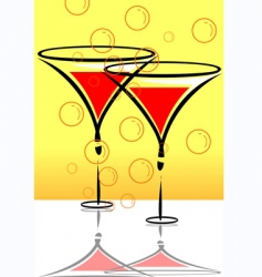 Goblets vector
