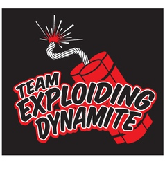 teamdynamite vector image vector image