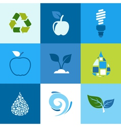 Ecology icon2 vector