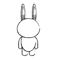Animal rabbit vector