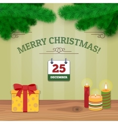 Christmas Background 3 vector image vector image