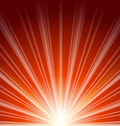 Lens flare with sunlight abstract background vector image vector image