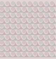 pastel shades abstract waves seamless pattern vector image vector image