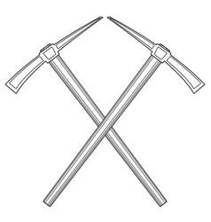pick tool vector image