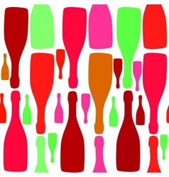 Background with bottles good for restaurant or bar vector