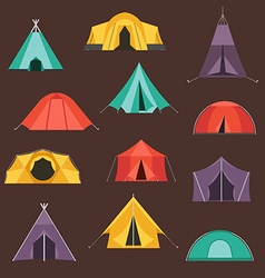 tents- vector image
