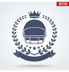 American Football Club Badge and Label vector image