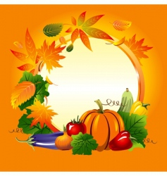autumn collection of four seasons vector image vector image