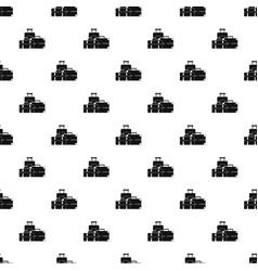 Baggage pattern vector