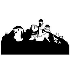 castle clipart vector image