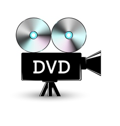 Disc DVD vector image