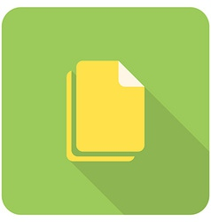 files icon vector image vector image