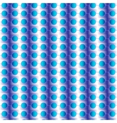 seamless pattern with circles blue vector image vector image