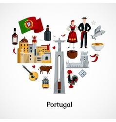 Portugal flat vector