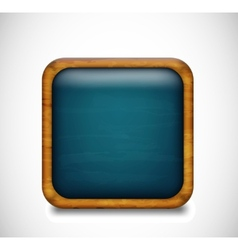 Blue app icon vector