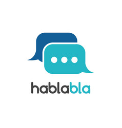 chat mobile application isolated vector image