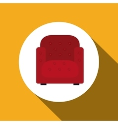 Couch icon design vector