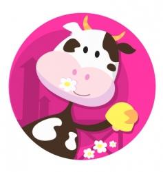 farm animals cartoon vector image vector image