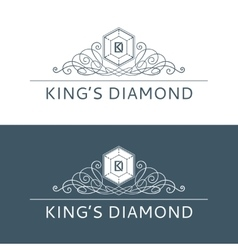 Kings Diamond Logo vector image