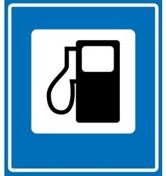 Fuel pump gas station icon vector